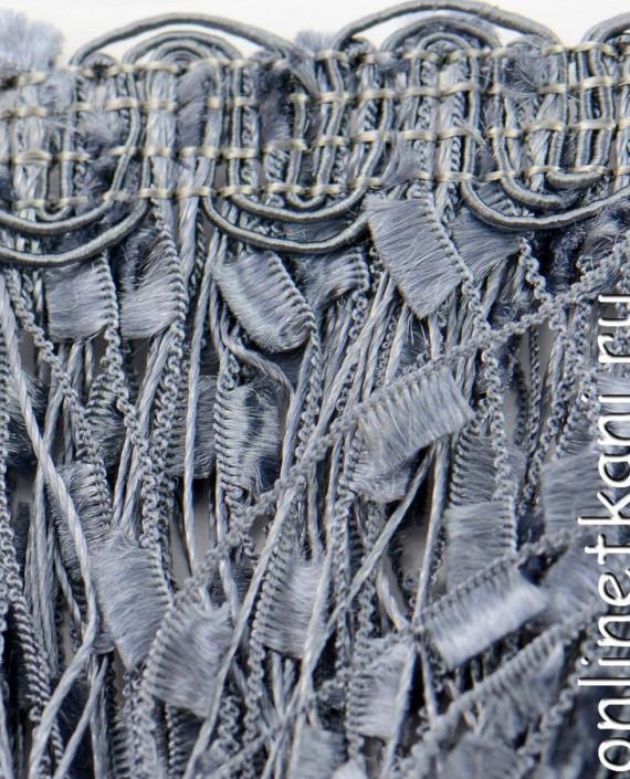 Тесьма 140 цвет серый картинка 2