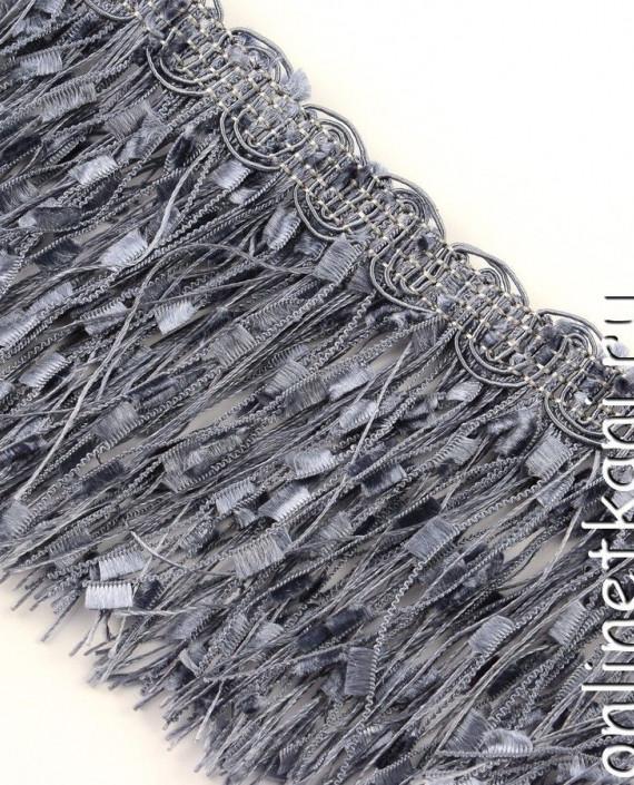 Тесьма 140 цвет серый картинка