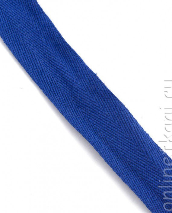 Тесьма 165 цвет синий картинка