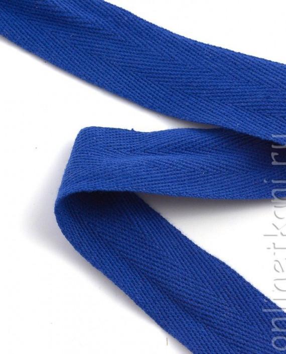 Тесьма 165 цвет синий картинка 1