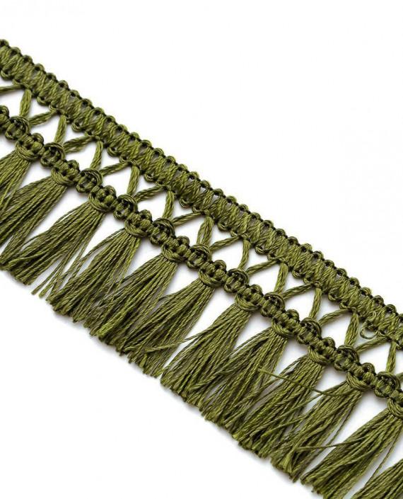 Тесьма 199 цвет зеленый картинка