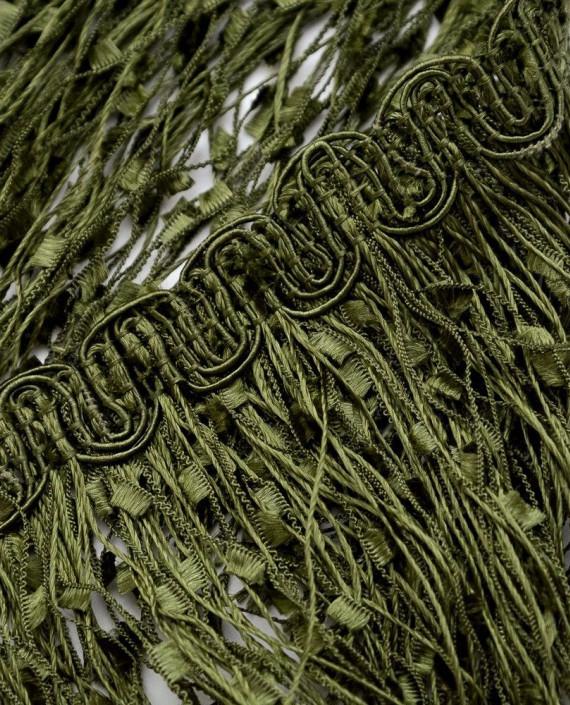 Тесьма 210 цвет зеленый картинка 2