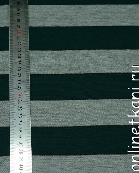 Ткань Трикотаж 0046 цвет разноцветный в полоску картинка 2