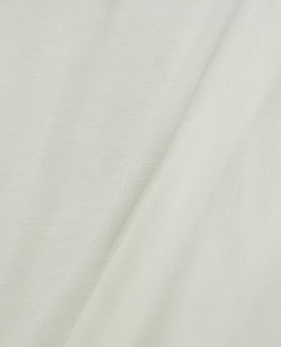 Ткань Трикотаж Хлопковый 2009 цвет белый картинка 2