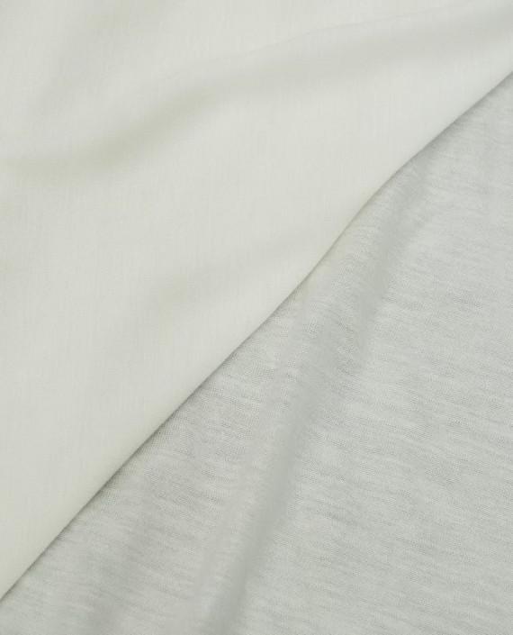 Ткань Трикотаж Хлопковый 2009 цвет белый картинка 1