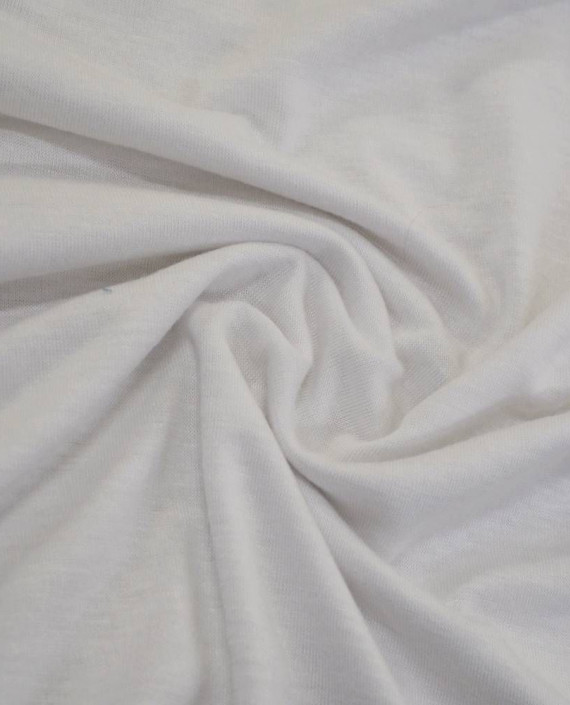 Ткань Трикотаж Вискозный 2235 цвет белый картинка