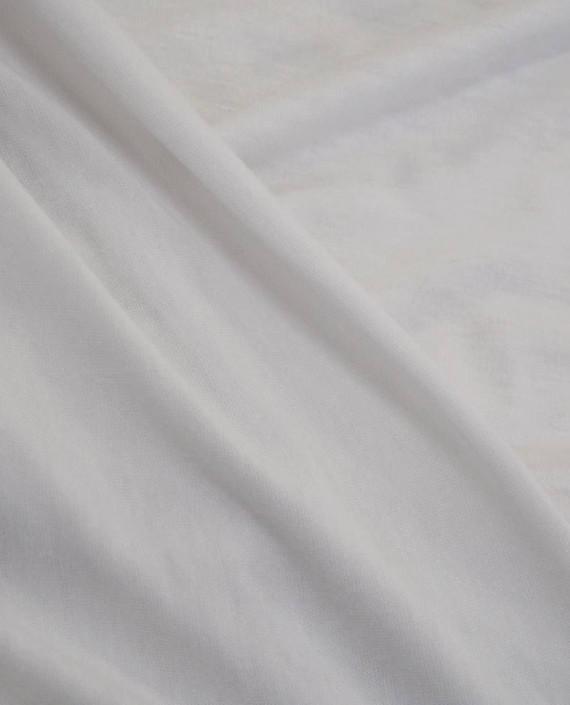 Ткань Трикотаж Вискозный 2235 цвет белый картинка 2