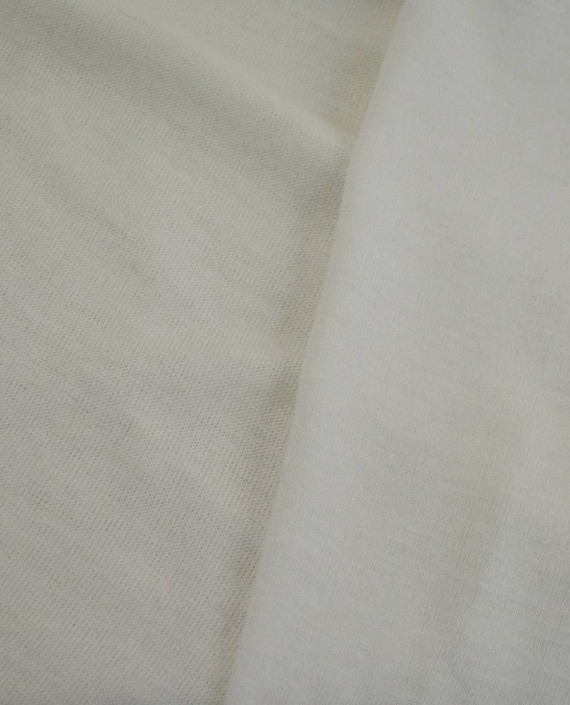 Ткань Трикотаж Вискозный 2293 цвет белый картинка 2