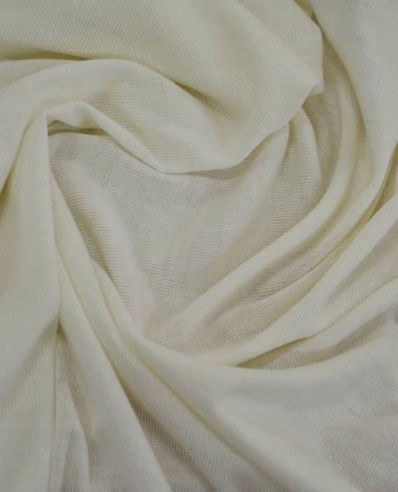 Ткань Трикотаж Вискозный 2293 цвет белый картинка 1