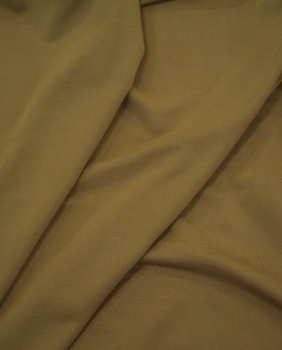 Трикотаж Масло Полиэстер - последний отрез1m 12435 цвет бежевый картинка 2