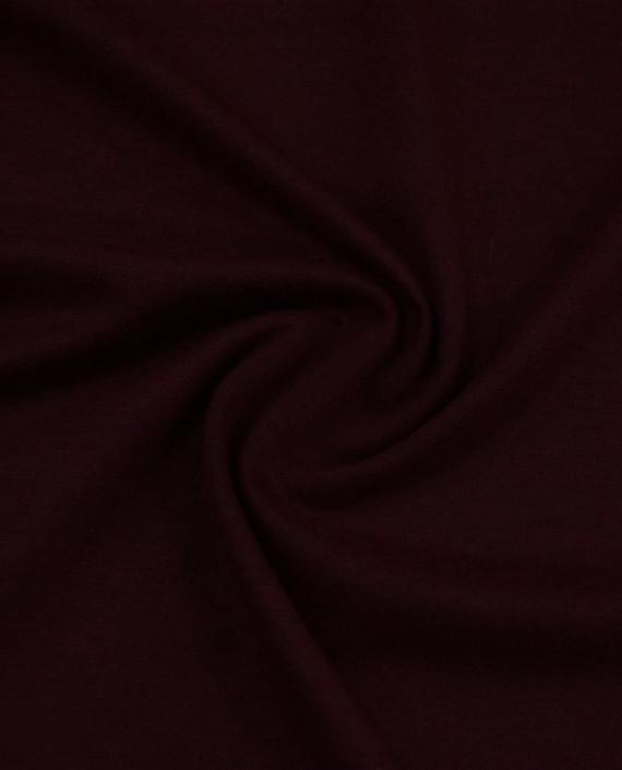 Трикотаж Джерси Хлопок 2513 цвет бордовый картинка