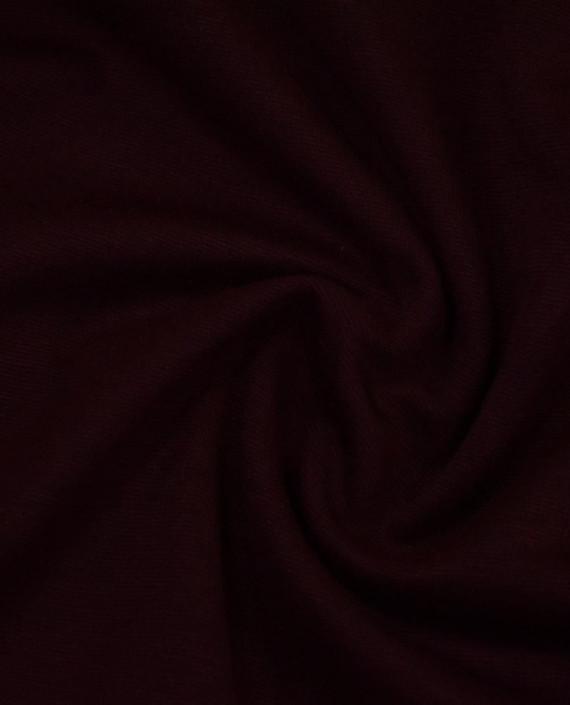 Трикотаж Джерси Хлопок 2513 цвет бордовый картинка 2