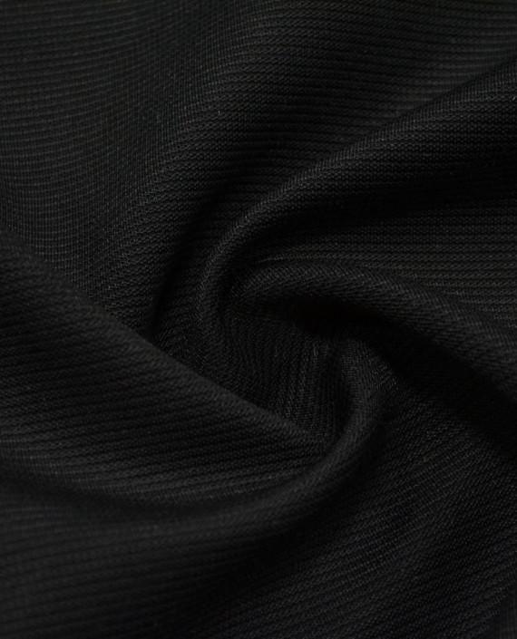 Трикотаж Плотный PINKO 2593 цвет черный картинка