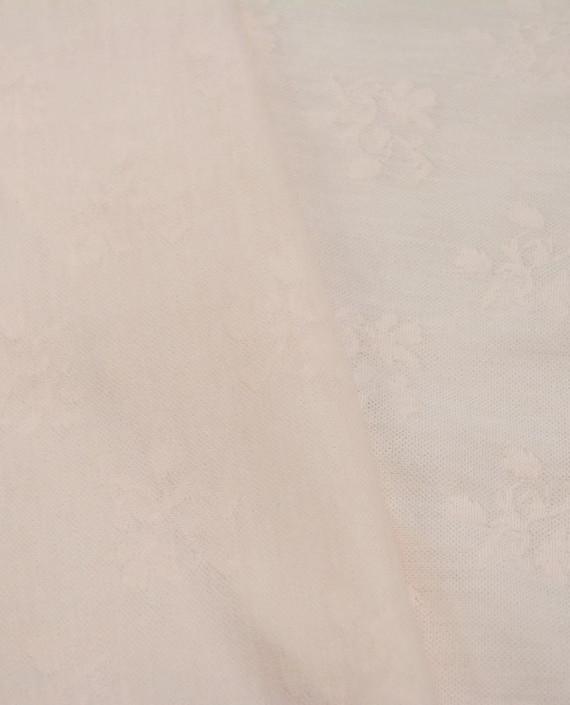 Трикотаж Жакардовый 2645 цвет розовый картинка 1