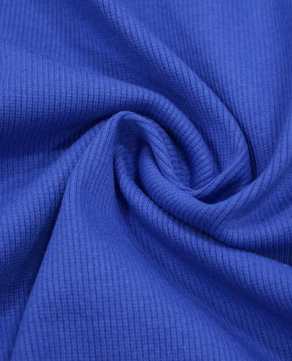 Трикотаж Рибана 3099 цвет синий картинка