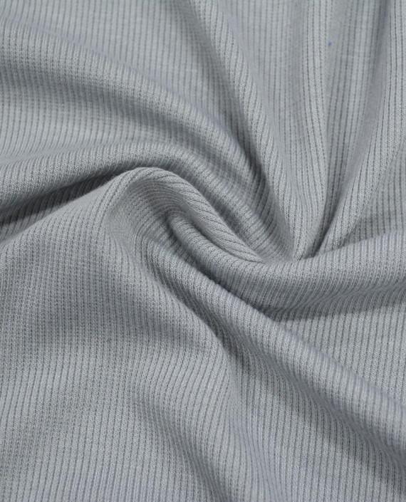 Трикотаж Рибана 3103 цвет серый картинка