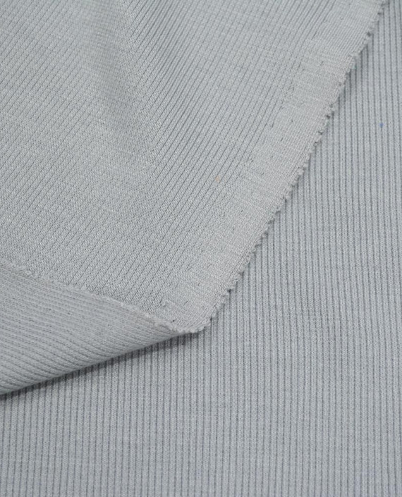 Трикотаж Рибана 3103 цвет серый картинка 1