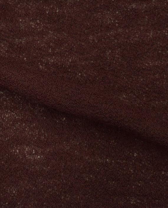 Ткань Трикотаж Вязаный 1579 цвет бордовый картинка 2