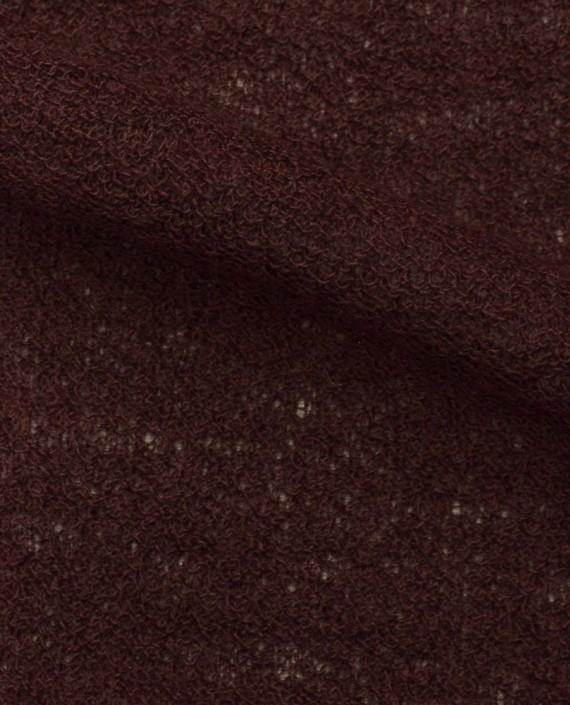 Ткань Трикотаж Вязаный 1579 цвет бордовый картинка 1