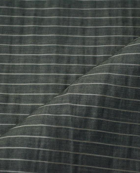 Последний отрез 1,5 м. Вискоза Рубашечная 10638 цвет серый полоска картинка