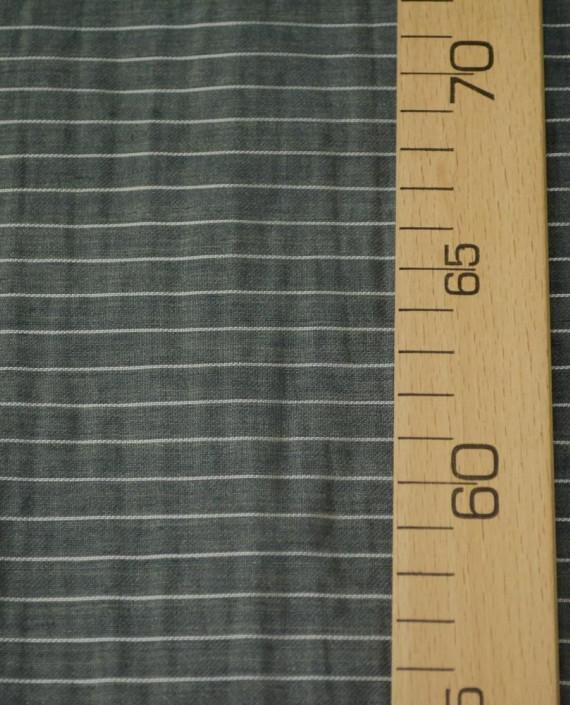 Последний отрез 1,5 м. Вискоза Рубашечная 10638 цвет серый полоска картинка 1