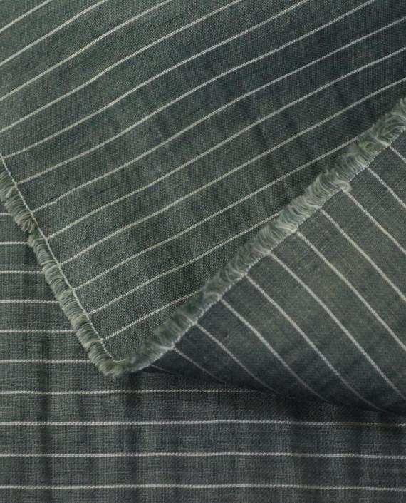 Последний отрез 1,5 м. Вискоза Рубашечная 10638 цвет серый полоска картинка 2