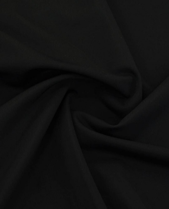 Ткань Бифлекс Malaga Nero 0173 цвет черный картинка