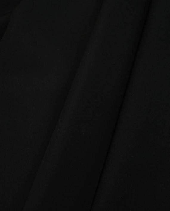 Ткань Бифлекс Malaga Nero 0173 цвет черный картинка 2