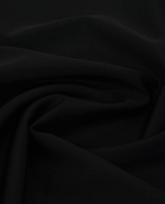 Ткань Бифлекс Malaga Nero 0173 цвет черный картинка 1