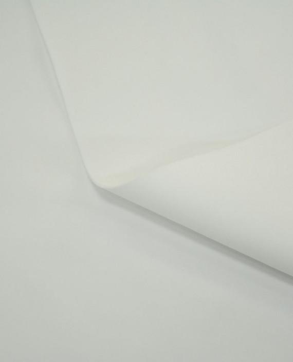 Последний отрез 1,5 м. Бифлекс DUBAI 10354 цвет белый картинка 2