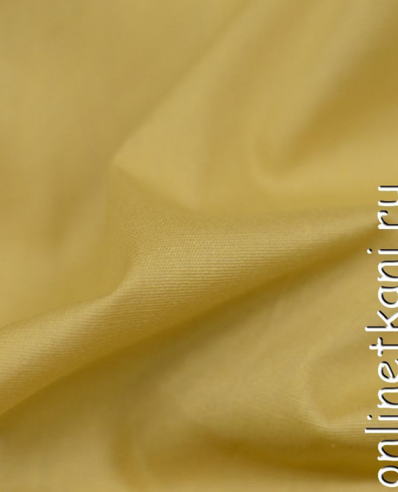 Ткань Хлопок 0323 цвет желтый картинка 1