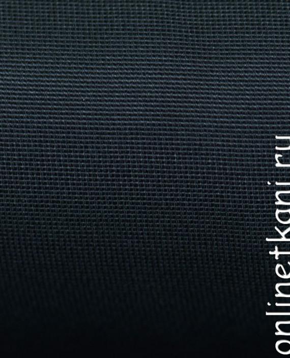 """Ткань Хлопок """"Сине-серый""""  0367 цвет синий картинка 2"""