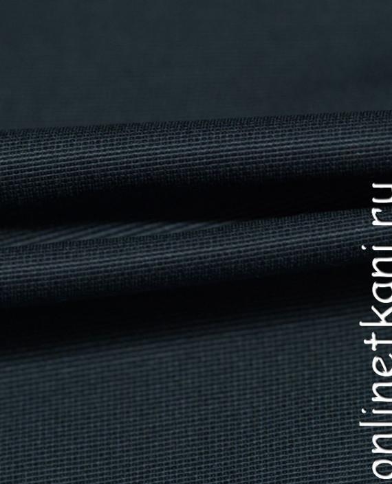 """Ткань Хлопок """"Сине-серый""""  0367 цвет синий картинка 1"""