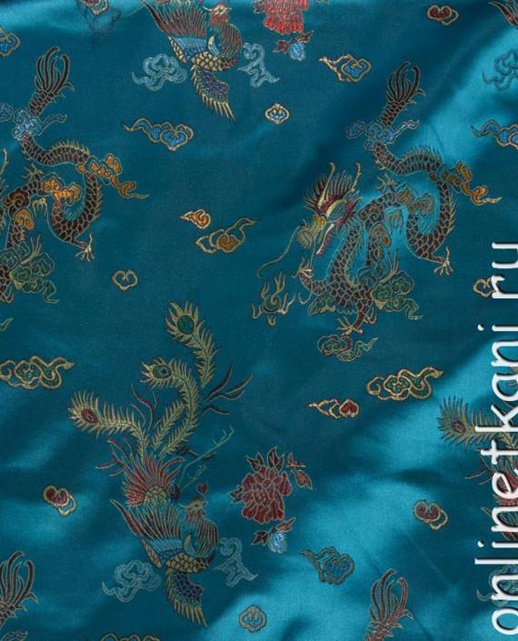 """Ткань Китайский шелк """"Восточная сказка"""" картинка 2"""