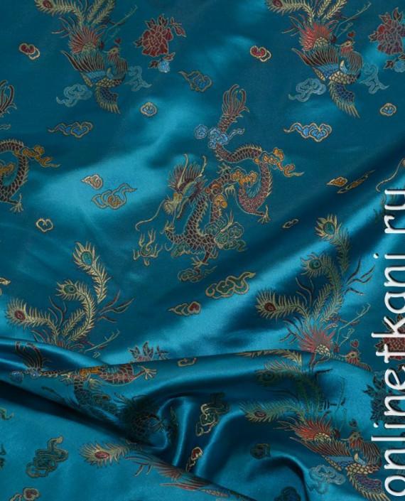 """Ткань Китайский шелк """"Восточная сказка"""" картинка 1"""