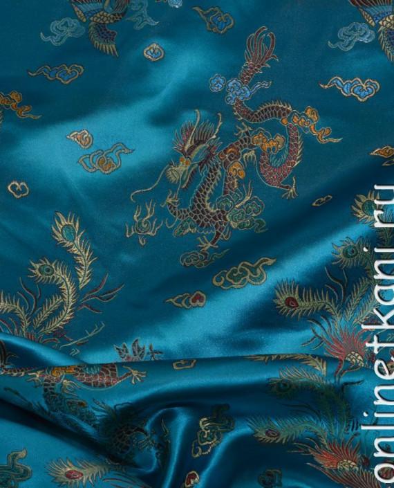 """Ткань Китайский шелк """"Восточная сказка"""" картинка"""