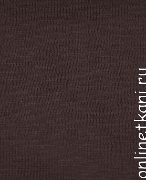 Ткань Трикотаж 0145 цвет коричневый меланж картинка