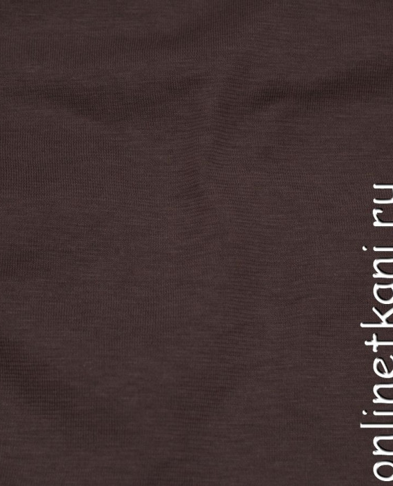 Ткань Трикотаж 0145 цвет коричневый меланж картинка 2