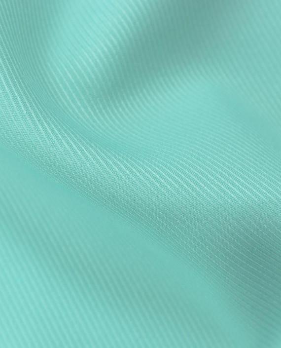 Костюмная ткань 0918 цвет зеленый полоска картинка 2