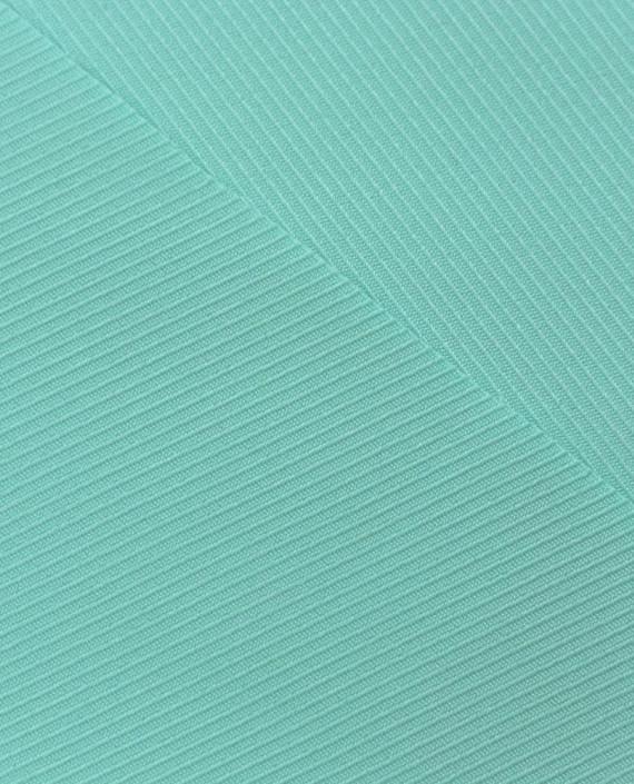 Костюмная ткань 0918 цвет зеленый полоска картинка 1