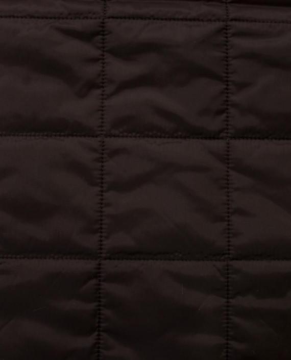 Стеганая ткань 125 цвет коричневый клетка картинка