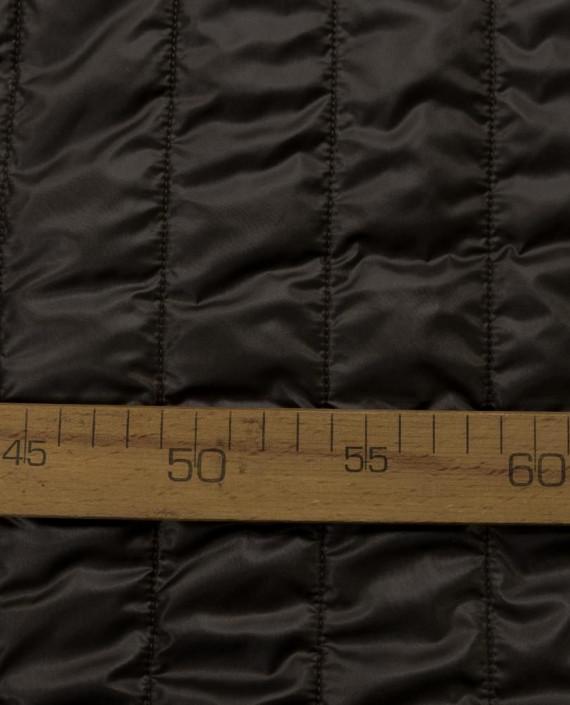 Стеганая ткань 133 цвет серый полоска картинка 1