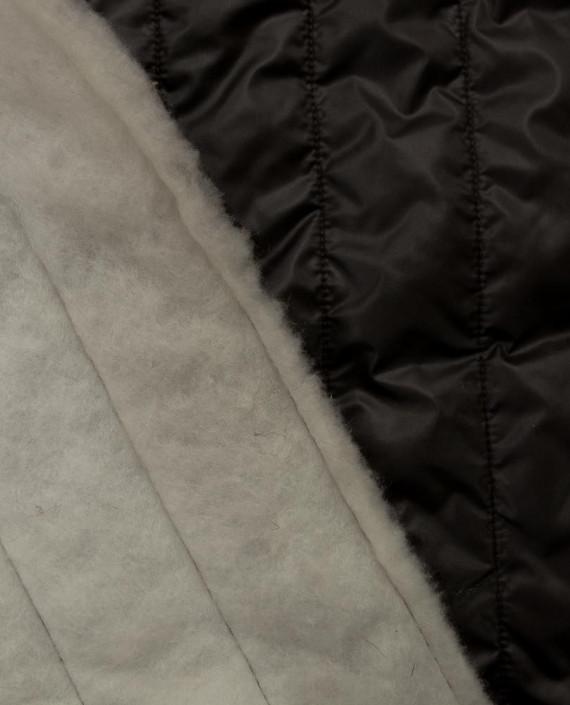 Стеганая ткань 133 цвет серый полоска картинка 2