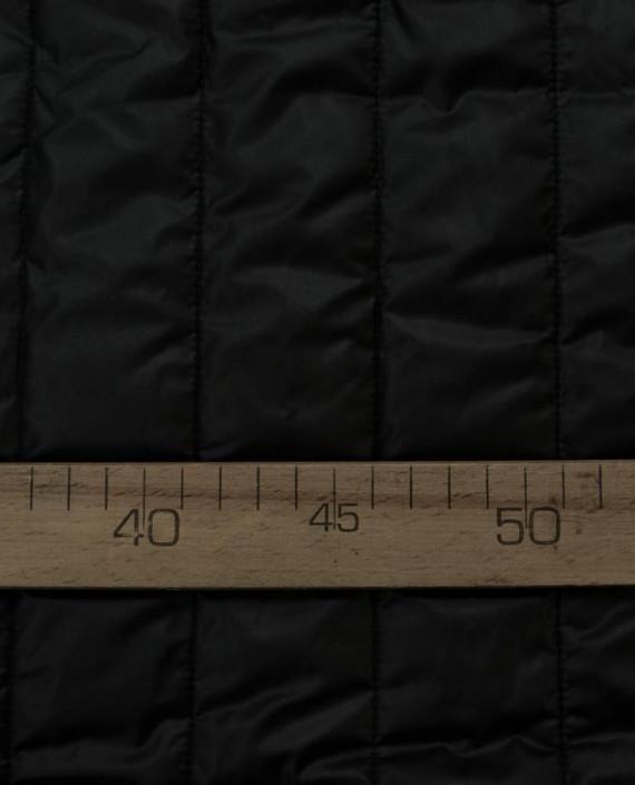 Стеганая ткань 119 цвет серый полоска картинка 2