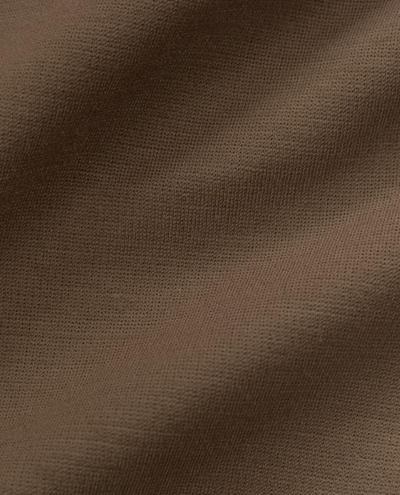 Джерси хлопок 2585 цвет коричневый картинка 2