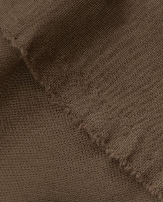 Джерси хлопок 2585 цвет коричневый картинка 1