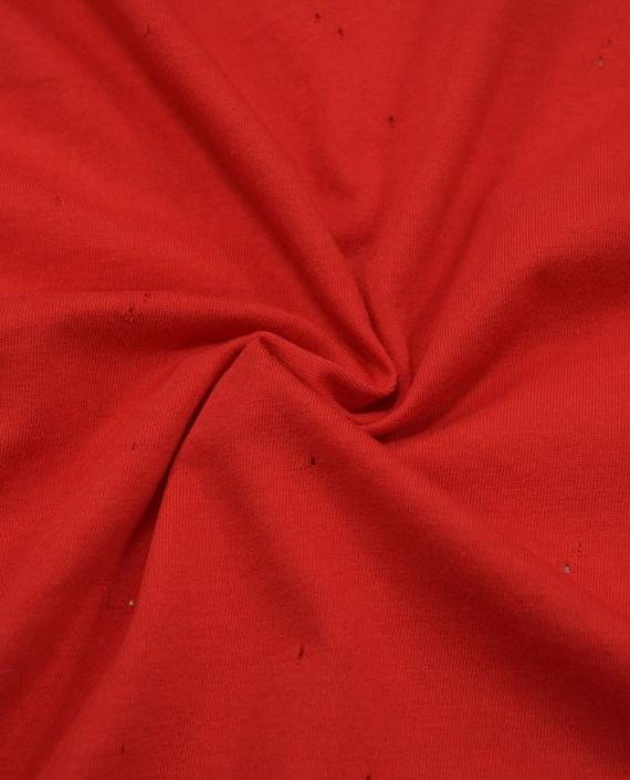 Трикотаж Кулирка 2820 цвет красный картинка