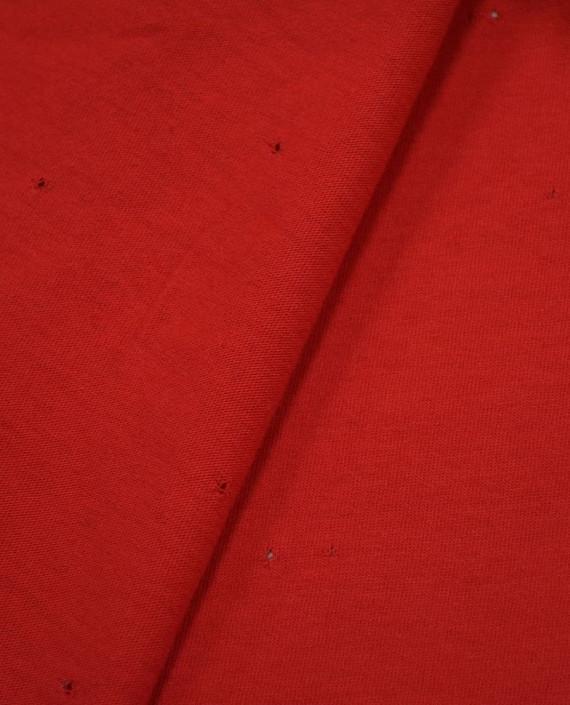 Трикотаж Кулирка 2820 цвет красный картинка 1