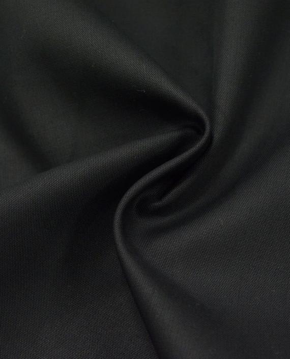 Хлопок Костюмный 2876 цвет черный картинка