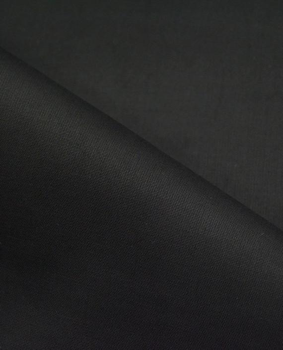 Хлопок Костюмный 2876 цвет черный картинка 1